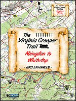 Virginia Creeper Trail Map information